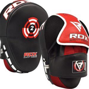 Zahnuté boxerské lapy RDX T2