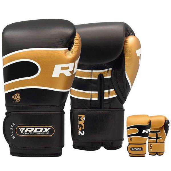 kozene boxerske rukavice rdx